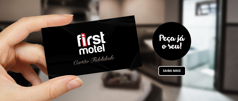 Cartão Fidelidade Motel First Sorocaba